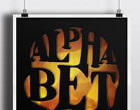 Handmade AIGA Poster Series