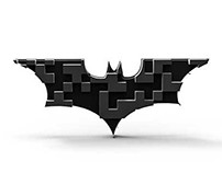 The Evolution Of The Batman Logo + QR code