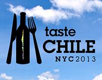 Taste Chile 2013 Branding