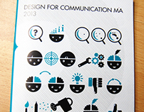 MA Design for Communication Showcase Catalogue