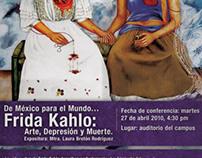 Conferencia Frida Kahlo