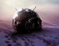 """Posters para el film """"El Cosmonauta"""""""