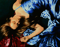 Figurative Oil Paintings II Nadia Lazizi