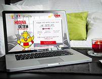 Webdesign - Foundation for Children