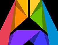 """Origami """"A"""": Art Heroes Rebrand"""