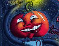 El chico cabeza de tomate