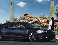 Tesla Test Render