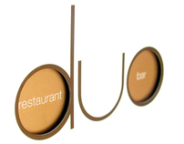 Duo Restaurant & Bar : Brand identity