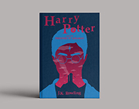 Harry Potter's book covers