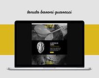 Tenuta Baroni Guarasci - Sito web.