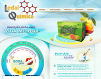 Website - Ledal Quimica