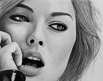Margot Robbie (Pencil Sketch)