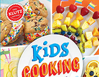 Kids Cooking Book and Kit Design for KLUTZ & Scholastic