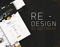 ZZ SOFTWARE | RE-DESIGN PROJECT