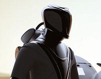 Mars astronaut suit concept