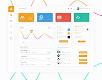 Minimal Dashboard Design