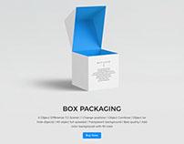 Box Packaging / Package Mockup