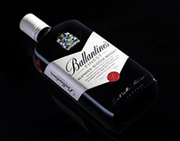 Ballantines's blended scotch whisky