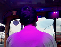 Violaceous Rickshaw