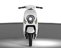 Electric motorcycle-L&Z(rendering)