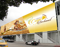 billboard for a company in Qatar
