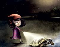 La tartaruga e la luna