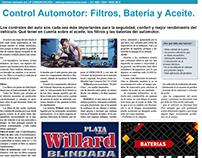 Nota en Clarín: Control Automotor
