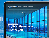 Radisson Blu Website Redesign
