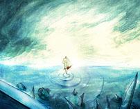 """Story """"L'errante dell'oceano mutevole."""""""