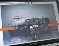 HAROPA - Ports de Paris - SITE WEB