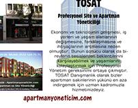 TOSAT - Profesyonel Apartman / Site Yönetimi