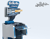 P&G - Gillette Stand