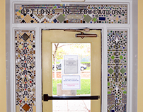 Front entry mosaic