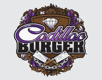 Cadillac Burger (Logo Treatment & Branding)