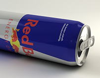 3D Model - Red Bull Can