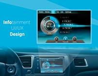 Infotainment UI Design