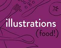 illustrations | food!