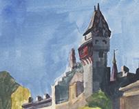 Gouache Environments / Plein-Air Painting