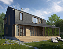 Dwelling house 200 sq m