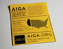 "AIGA // ""Learn About Us"""
