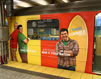 Travel Channel Summer Subway Wrap