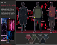 Menswear concept AW1819 - Dark Wonder
