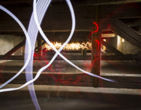 Lightpainting - interactive exhibition 2013