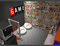 Projeto de Interiores - Loja Geek