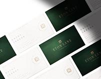 Eton Lane Branding
