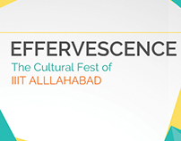Effervescence'16 Sponsorship Brochure Design
