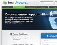 SmartProcure.us design and front-end development