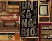 Un Canario / Afiche de teatro