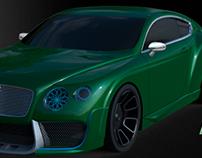 Bentley GT body kit