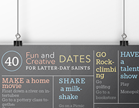 Poster Mockup - Fun and Creative Dates Poster